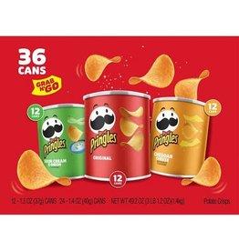 Pringles Pringles Grab & Go Variety Pack, 36 ct