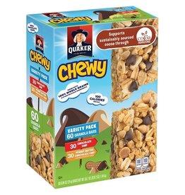 Quaker Quaker Granola Bars Chewy Variety Pack, 0.84 oz, 60 ct