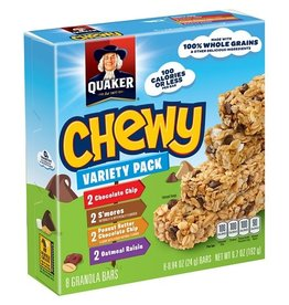 Quaker Quaker Granola Bars Chewy Variety Pack, 6.7 oz, 12 ct