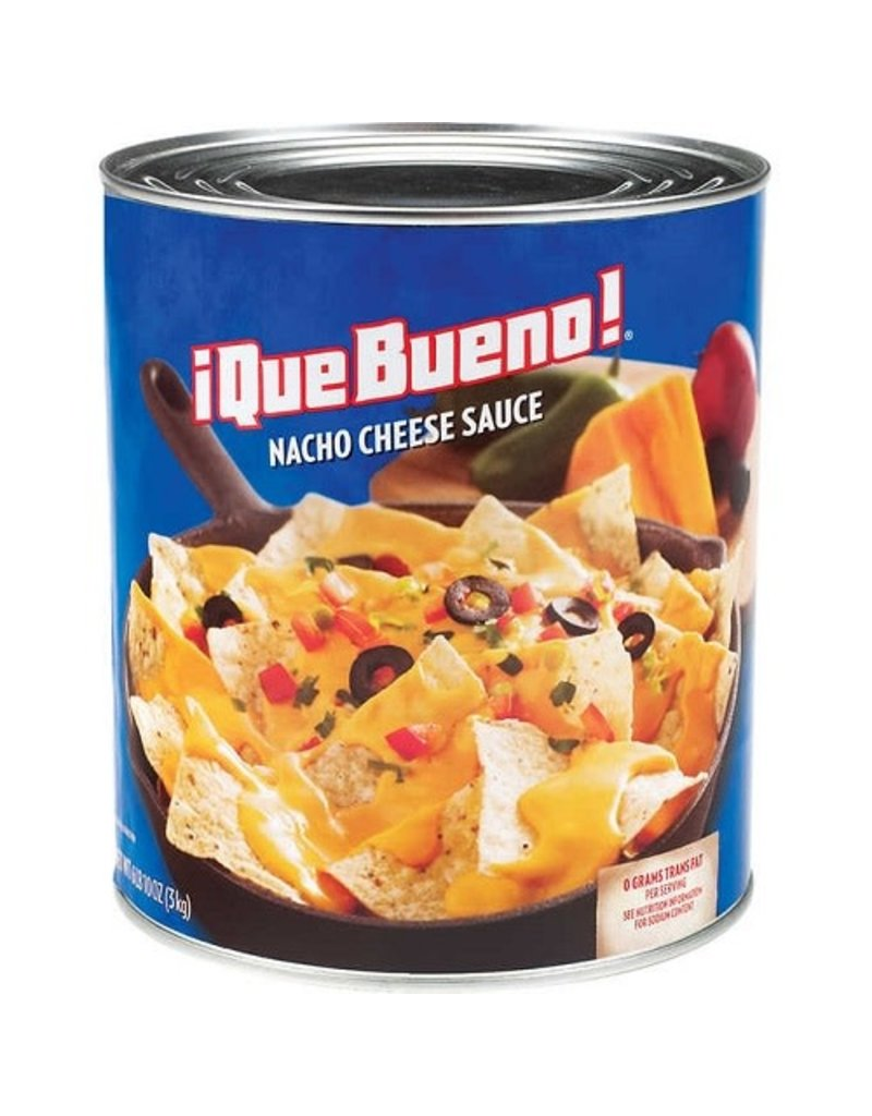 Que Bueno Que Bueno Nacho Cheese Sauce, #10 can