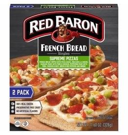 Red Baron Red Baron French Bread Supreme Pizza, 11.6 oz, 12 ct