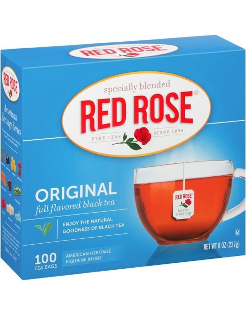 Red Rose Red Rose Tea Bags 100 ct, 8 oz (Pack of 12)