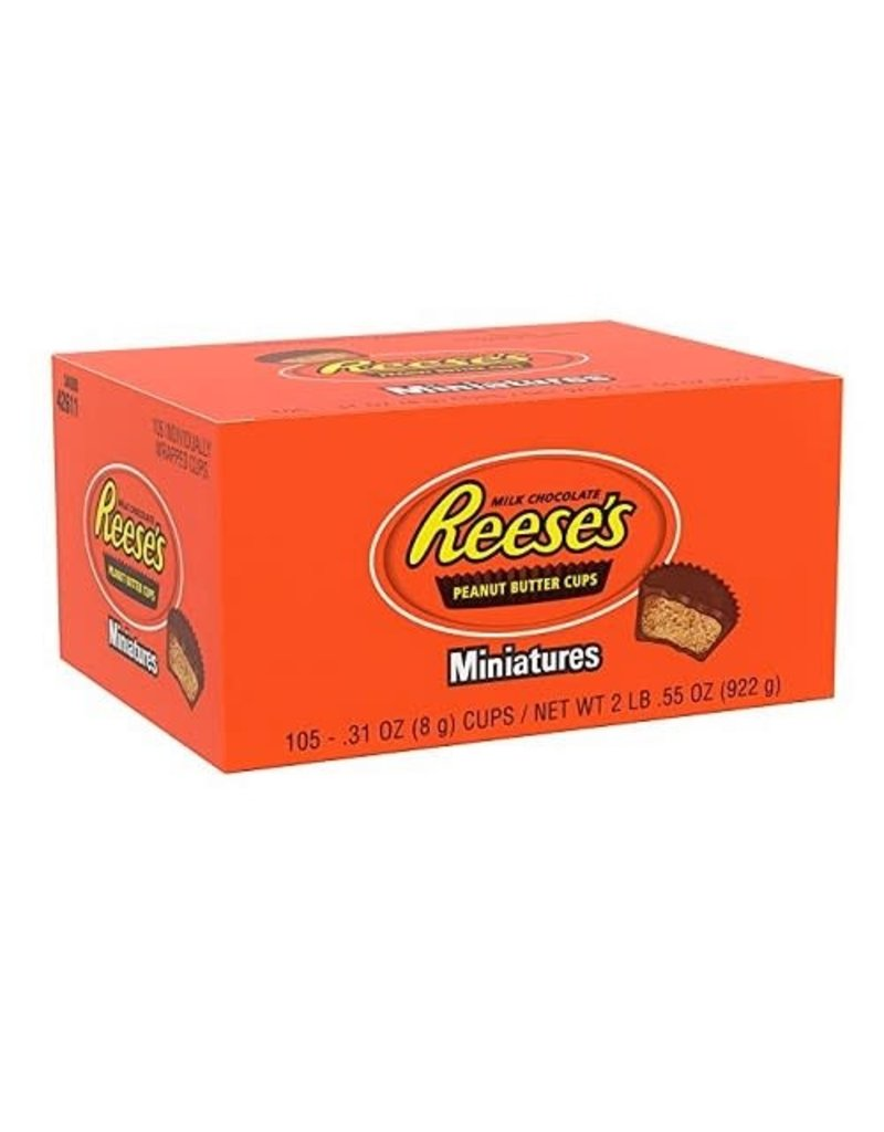 Reese's Reese's Mini Peanut Butter Cups, 0.31 oz, 105 ct