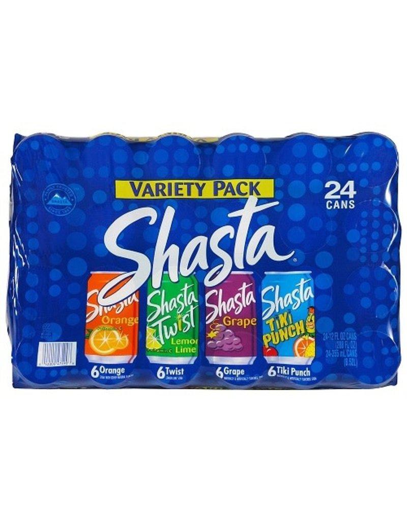 Shasta Shasta Variety Pack, 12 oz, 24 ct