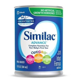 Similac Similac Advance Infant Formula Concentrate With Iron, 13 oz, 12 ct