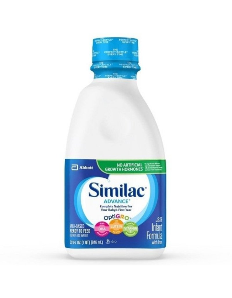 Similac Similac Advance Ready To Feed, 32 oz, 6 ct