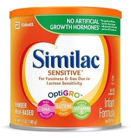 Similac Similac Sensitive Powder Infant Formula With Iron, 12 oz