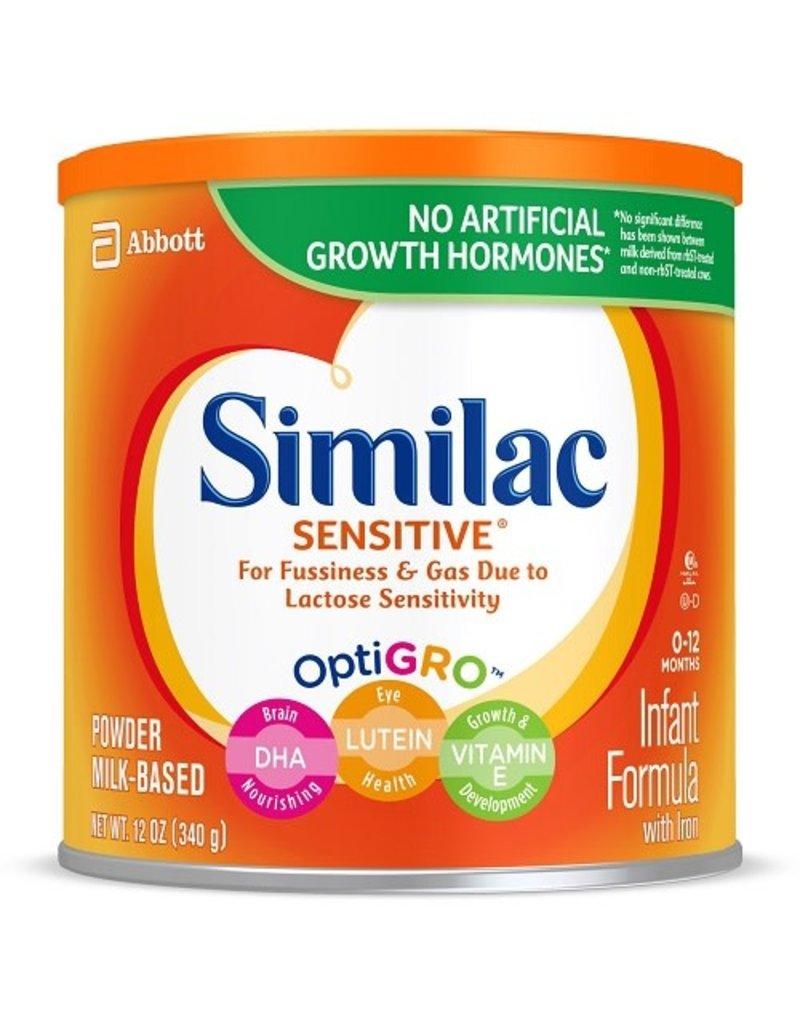 Similac Similac Sensitive Powder Infant Formula With Iron, 12 oz, 6 ct