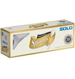 Solo Solo Heavyweight Spoons, 500 ct