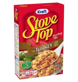 Kraft Stove Top Turkey Stuffing, 6 oz, 12 ct