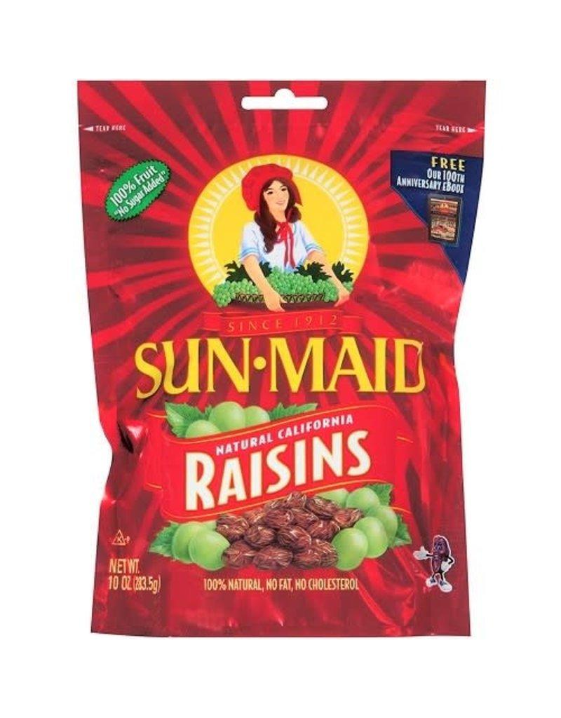 Sunmaid Sun-Maid Raisins Zip Bag, 10 oz, 12 ct