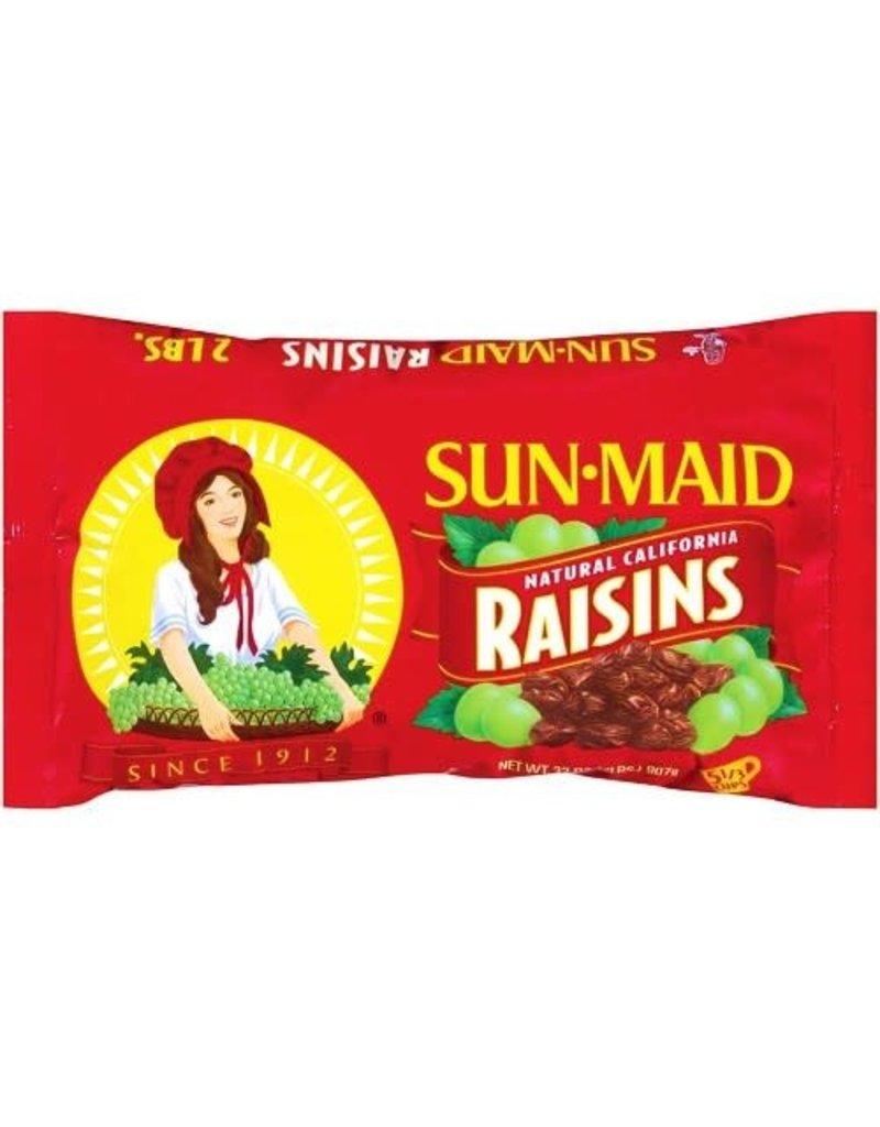 Sunmaid Sun-Maid Raisins Zip Bag, 2 lb, 12 ct
