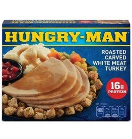 Swanson Swanson Hungry-Man Turkey Breast, 16 oz, 8 ct