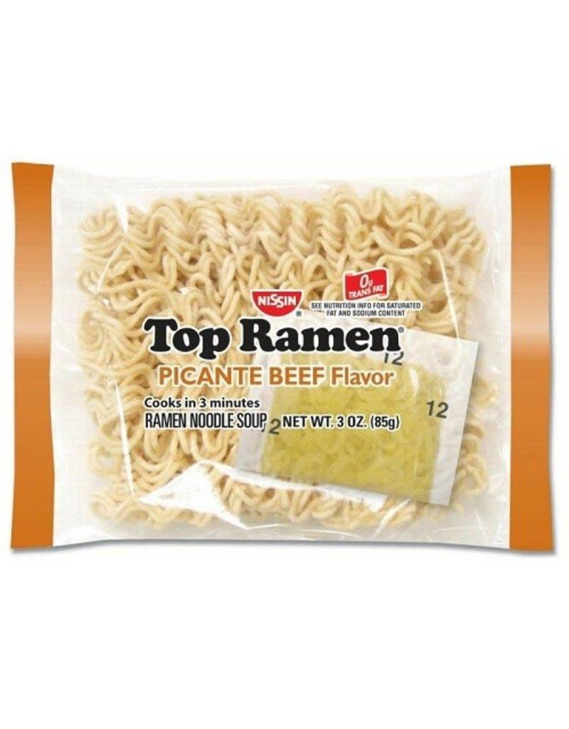 Top Ramen Top Ramen Beef Picante, 3 oz, 24 ct