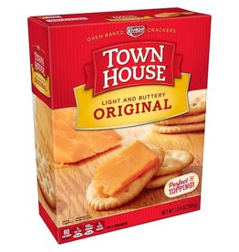 Town House Town House Original Crackers, 13.8 oz, 12 ct