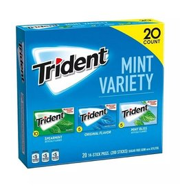 Trident Trident Mint Gum Variety Pack, 14 ct, 20 pack