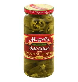 Mezzetta Mezzetta Deli-Sliced Hot Jalapeno Peppers, 16 oz