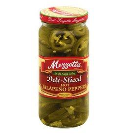 Mezzetta Mezzetta Deli-Sliced Hot Jalapeno Peppers, 16 oz, 12 ct