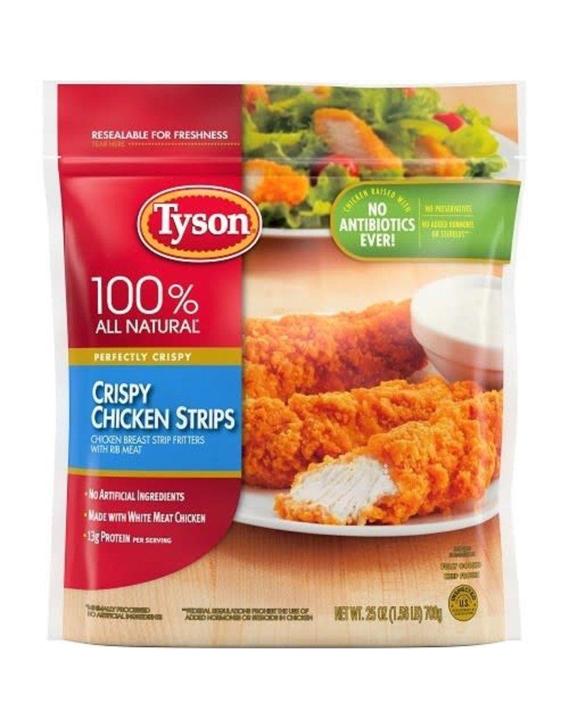 Tyson Foods Tyson Crispy Chicken Strips, 25 oz, 12 ct