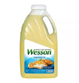 Wesson Wesson Vegetable Oil, 128 oz, 4 ct