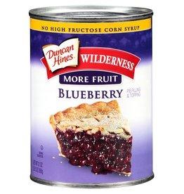 Wilderness Wilderness Blueberry Pie Filling, 21 oz, 12 ct