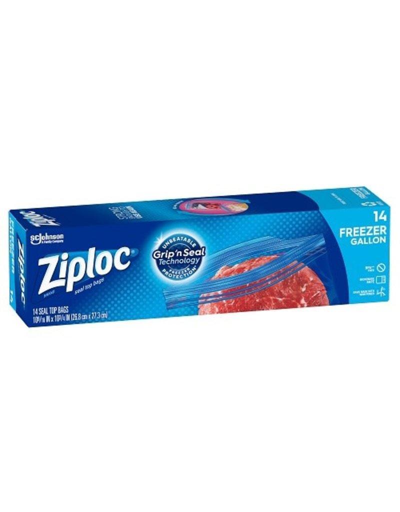 Ziploc Ziploc Frzr Bag 1 Gal Zppr, 14 ct