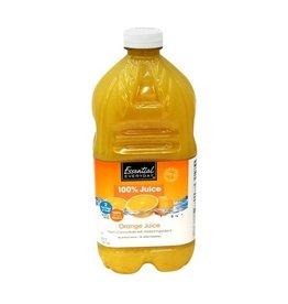 Essential Everyday EED Orange Juice 100%, 64 oz