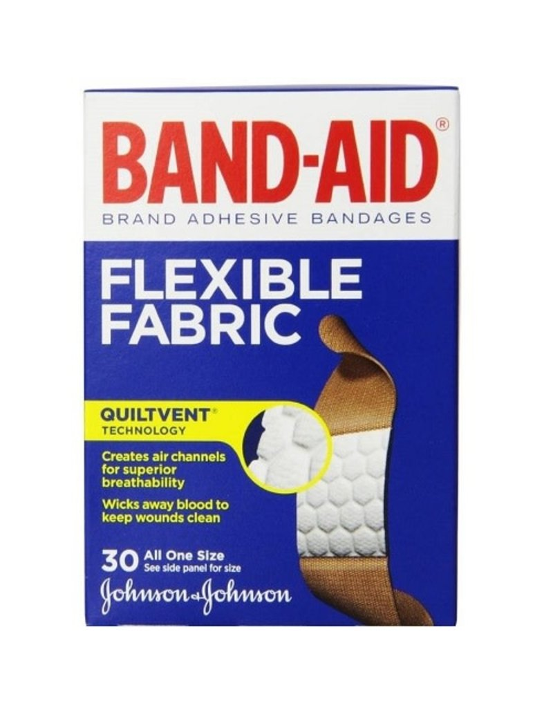 Band-Aid Band-Aid Flex Fabric 3/4'', 30 ct (Pack of 6)
