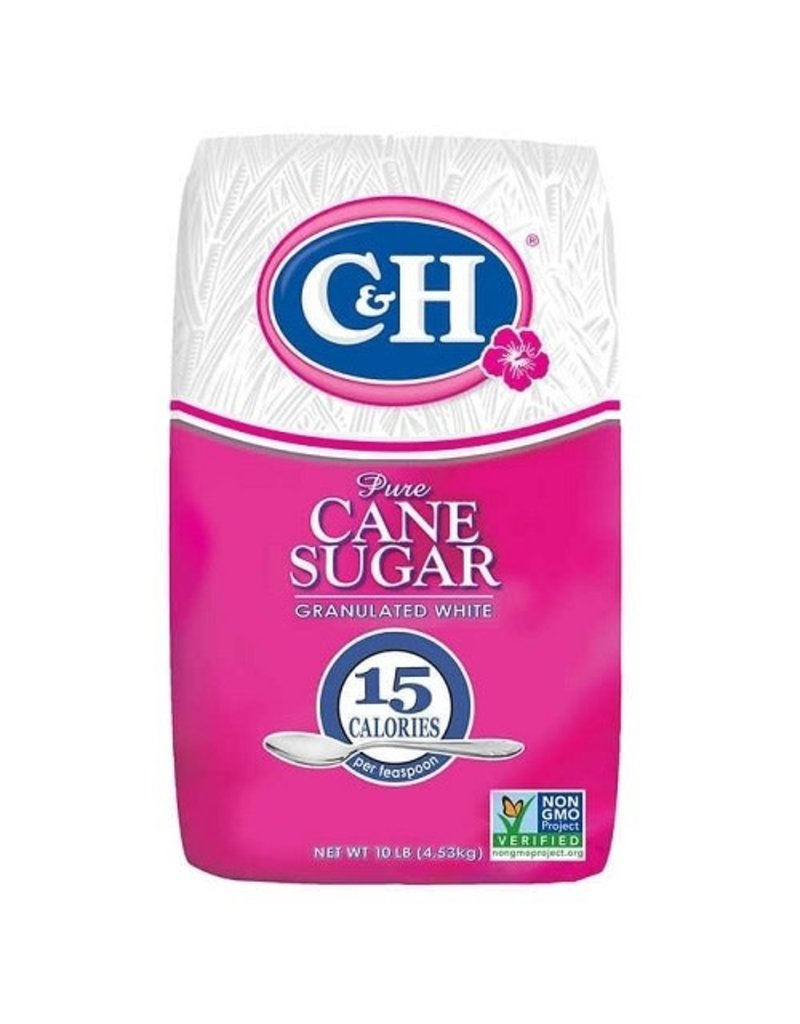 C&H C&H Sugar Granulated, 10 lb