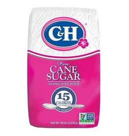 C&H C&H Sugar Granulated, 10 lb, 4 ct