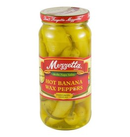 Mezzetta Mezzetta Hot Banana Peppers, 16 oz, 6 ct