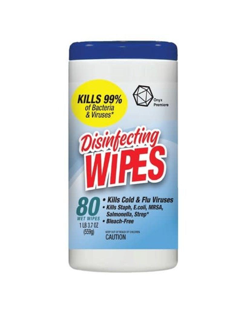 Onyx Onyx Disinfecting Wipes, 80 ct