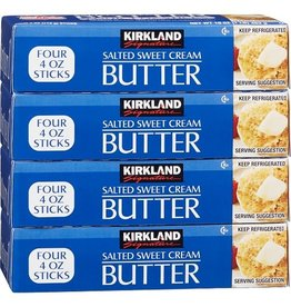 Kirkland Signature Kirkland Signature Salted Sweet Cream Butter, 1 lb, 4 ct