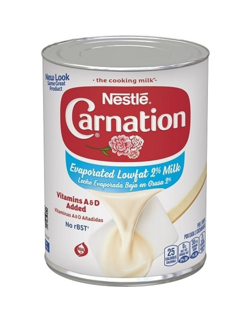 Carnation Carnation Evaporated Milk Low Fat, 12 oz, 24 ct