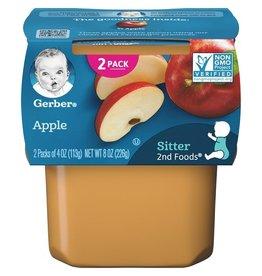Gerber Gerber 2nd Foods Apple, 8 oz, 8 ct