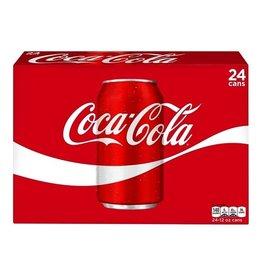 Coke Coke Classic, 12 oz, 24 pk