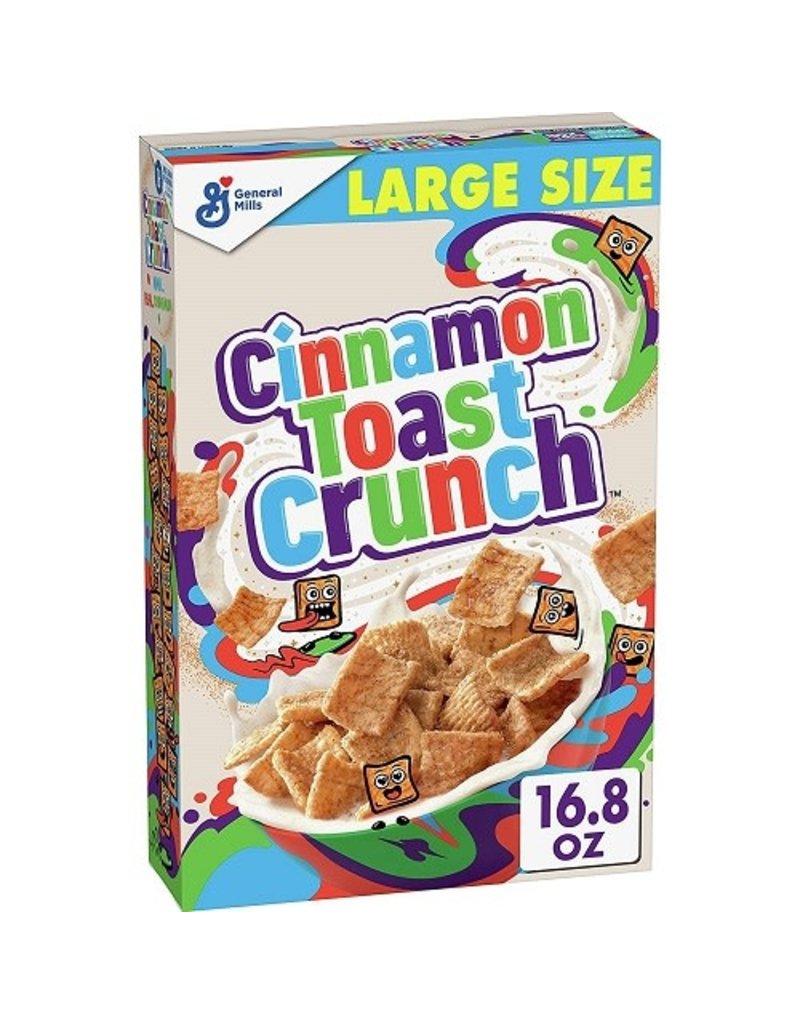 General Mills Cinnamon Toast Crunch, 16.8 oz, 10 ct