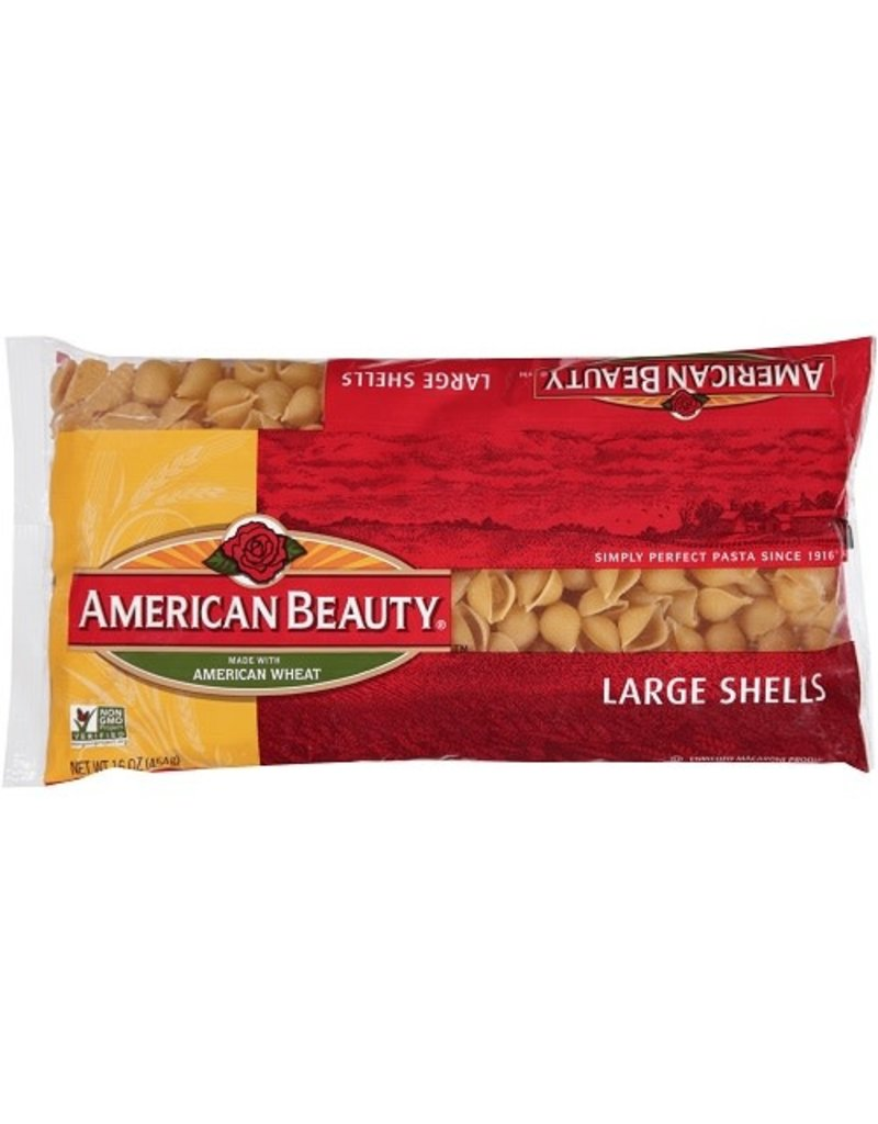 American Beauty American Beauty Shell Pasta Roni, 16 oz