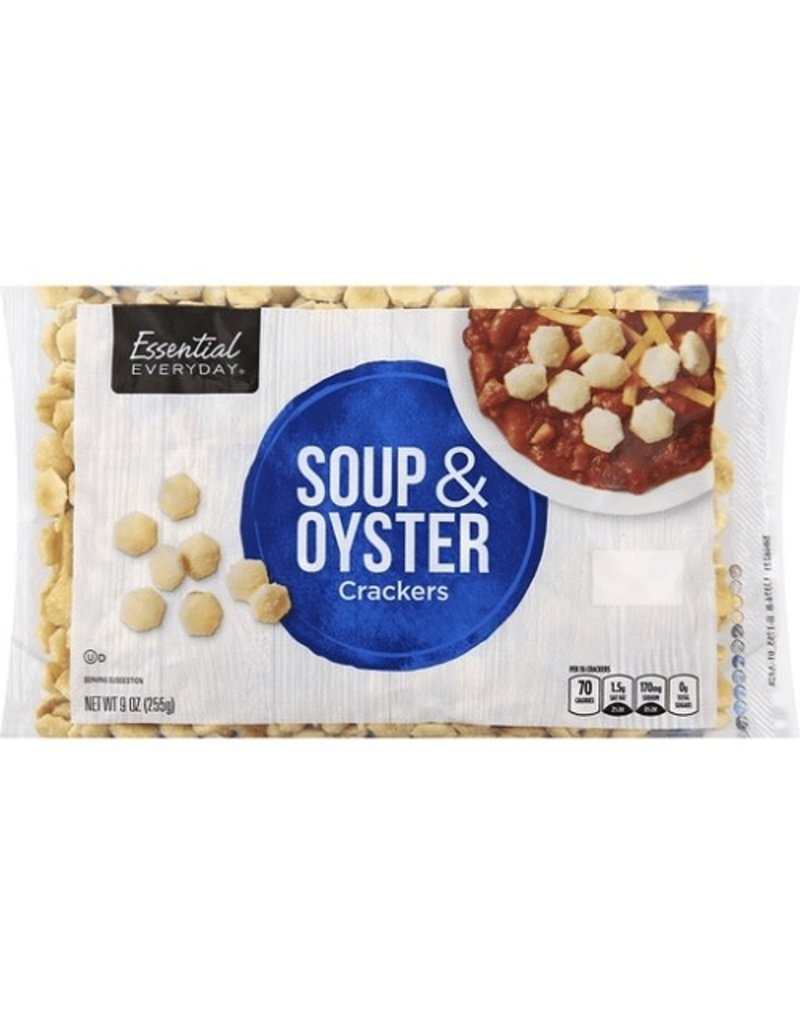 Essential Everyday EED Soup & Oyster Crackers, 9 oz, 12 ct