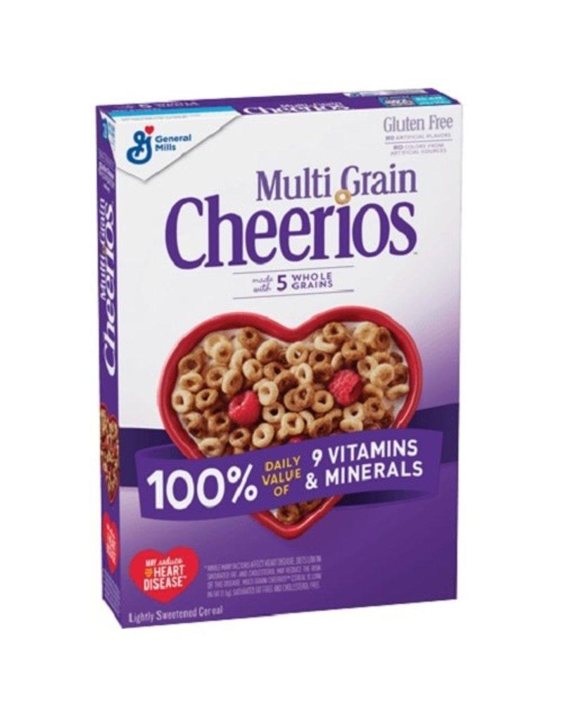 General Mills General Mills Cheerios Multigrain, 9 oz, 12 ct