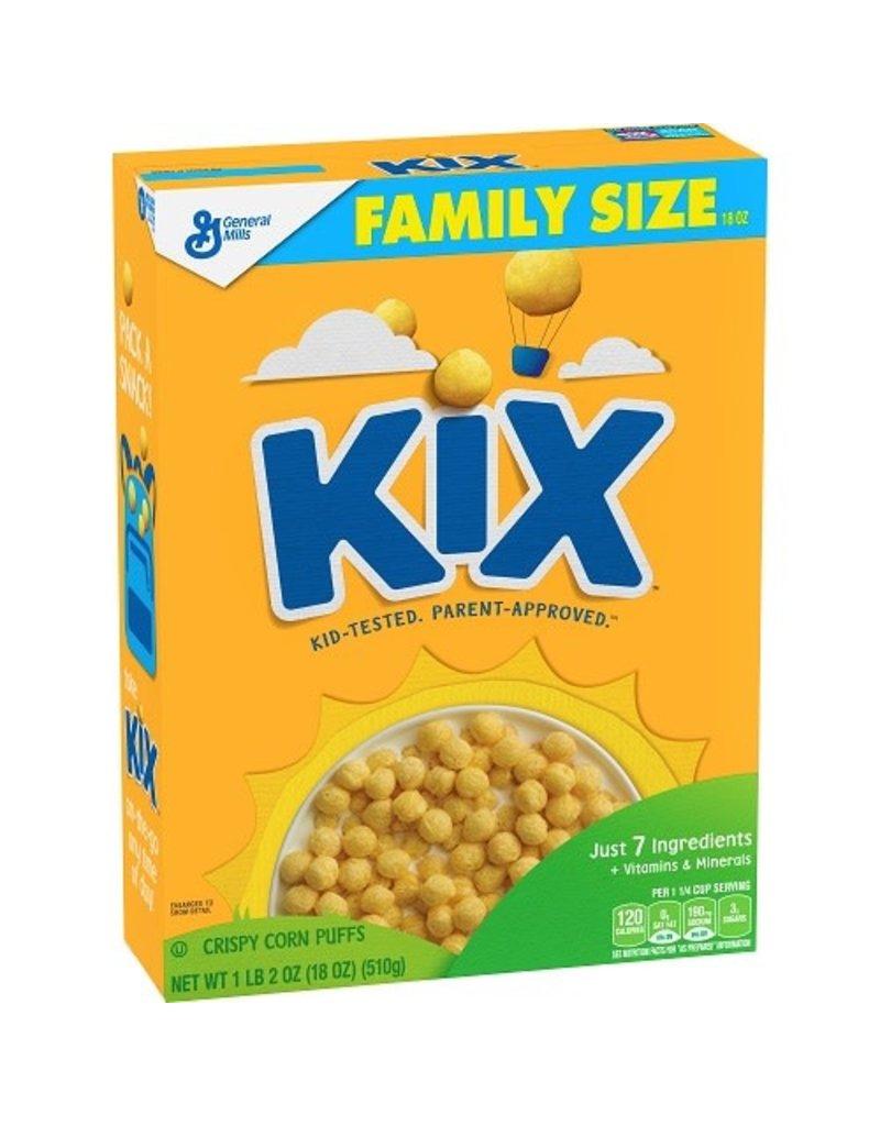 General Mills General Mills Kix Cereal, 18 oz, 10 ct