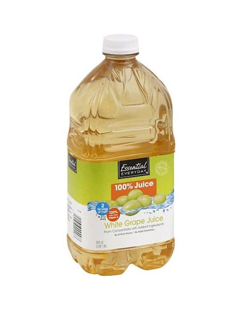 Essential Everyday EED White Grape Juice, 64 oz, 8 ct