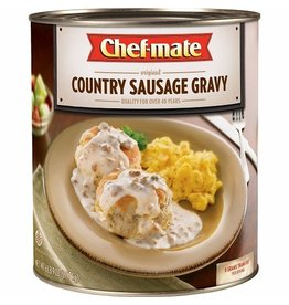 Chef-Mate Chef-Mate Country Sausage Gravy, #10 can