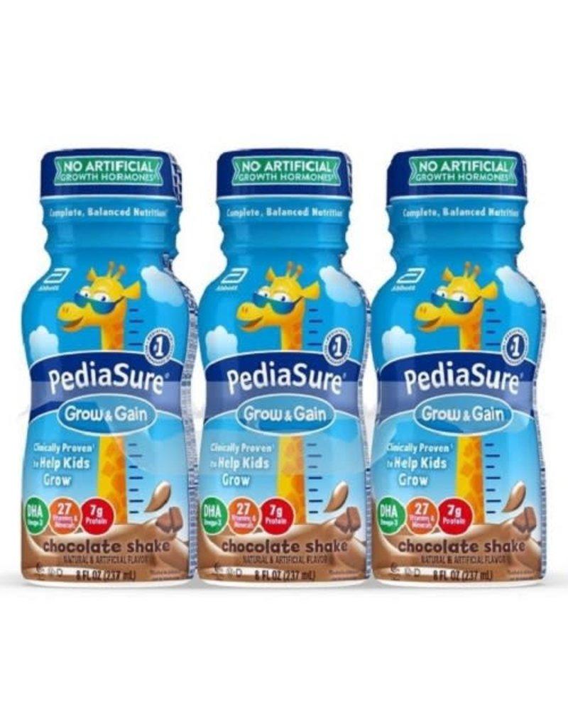 PediaSure PediaSure Grow & Gain Chocolate Protein Shake,  8 oz, 6 ct