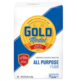 Gold Medal Gold Medal All Purpose Flour, 25 lb, 2 ct