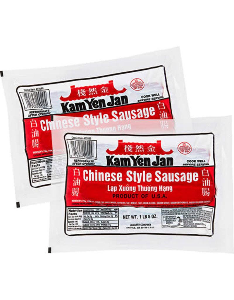 Kam Yen Jan Kam Yen Jan Chinese Style Pork Sausage, 21 oz, 2 ct