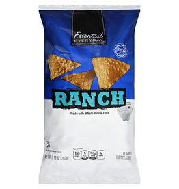 Essential Everyday EED Ranch Tortilla Chip, 10 oz, 12 ct