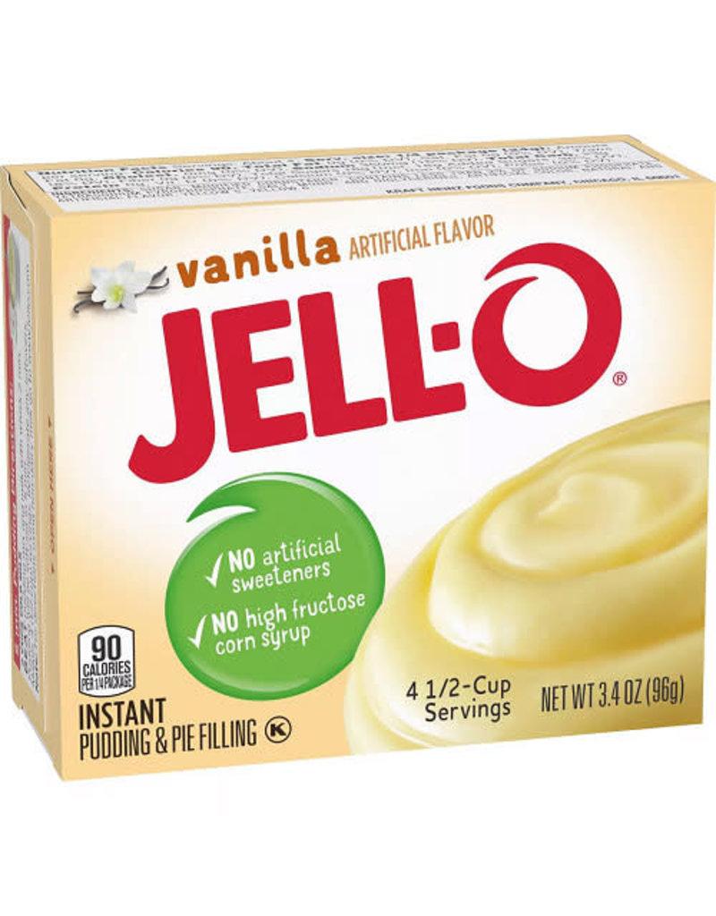Jell-O Jell-O Instant Vanilla Pudding, 3.4 oz, 24 ct