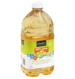 Essential Everyday EED White Grape 100% Juice, 64 oz