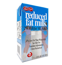 Real Fresh Real Fresh 2% Milk, 32 oz, 12 ct